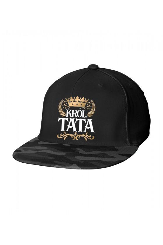 Czapka Camo Snapback dla Taty Król Tata