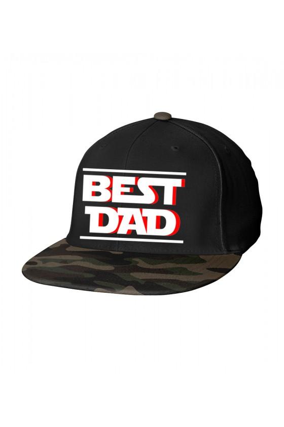 Czapka Camo Snapback BEST DAD