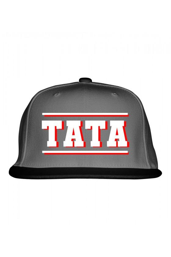 Czapka Snapback z napisem TATA
