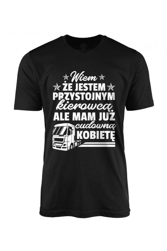 Koszulka męska dla przystojnego kierowcy