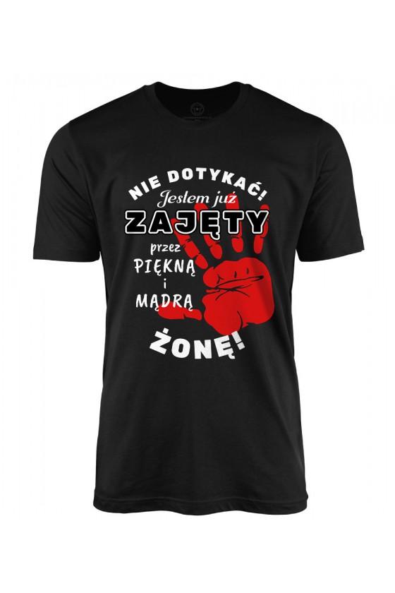 Koszulka męska dla Męża z zabawnym nadrukiem - od Żony