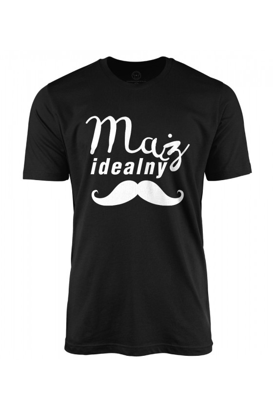 Koszulka męska Z Napisem Mąż idealny
