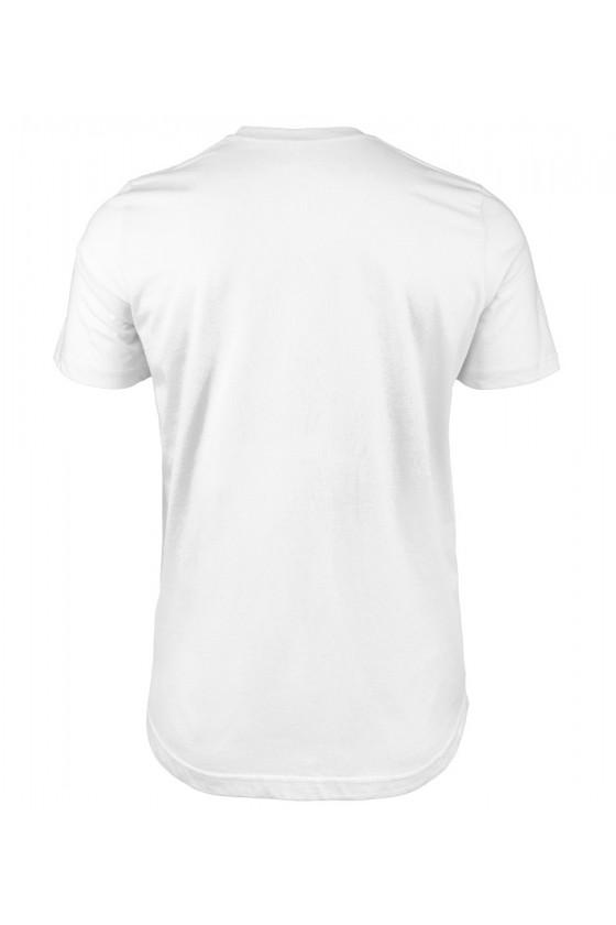 Koszulka męska Z napisem - Jestem szczęśliwym Facetem