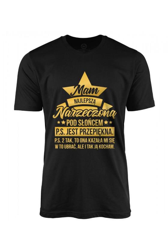 Koszulka męska Mam najlepszą Narzeczoną pod Słońcem 2