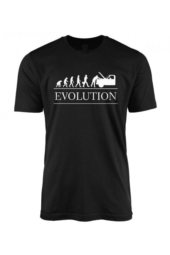 Koszulka męska Ewolucja mechanika