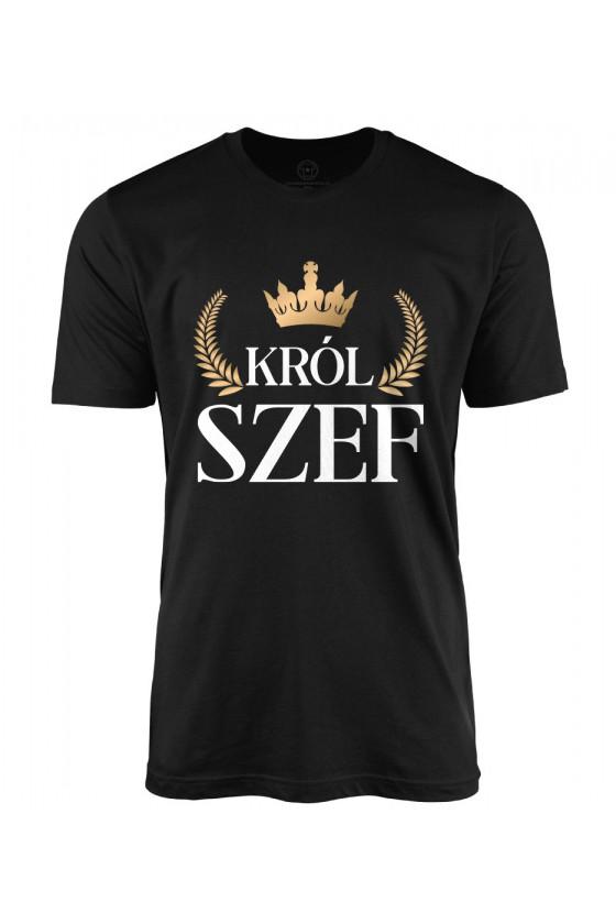 Koszulka męska Król szef