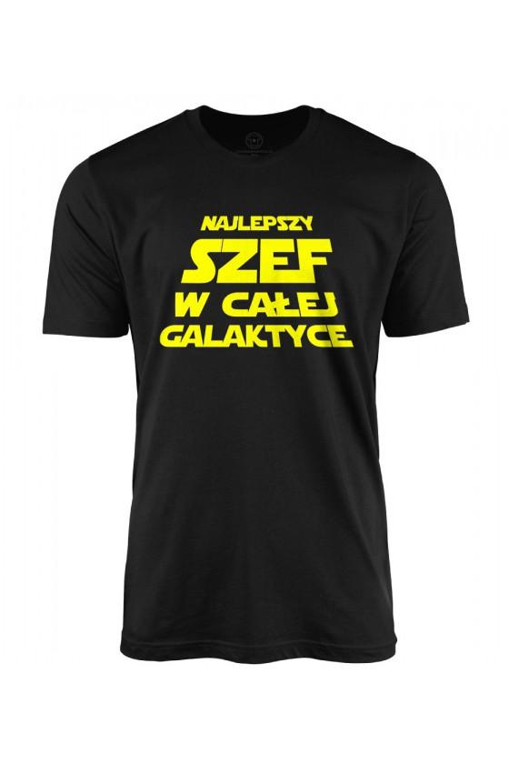 Koszulka męska Najlepszy szef w całej galaktyce