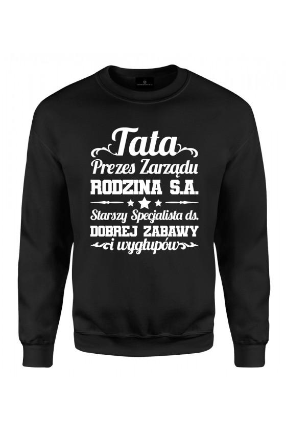 Bluza klasyczna Tata Prezes Zarządu Rodzina S.A.