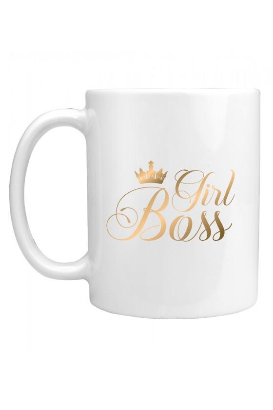 Kubek Girl Boss gold