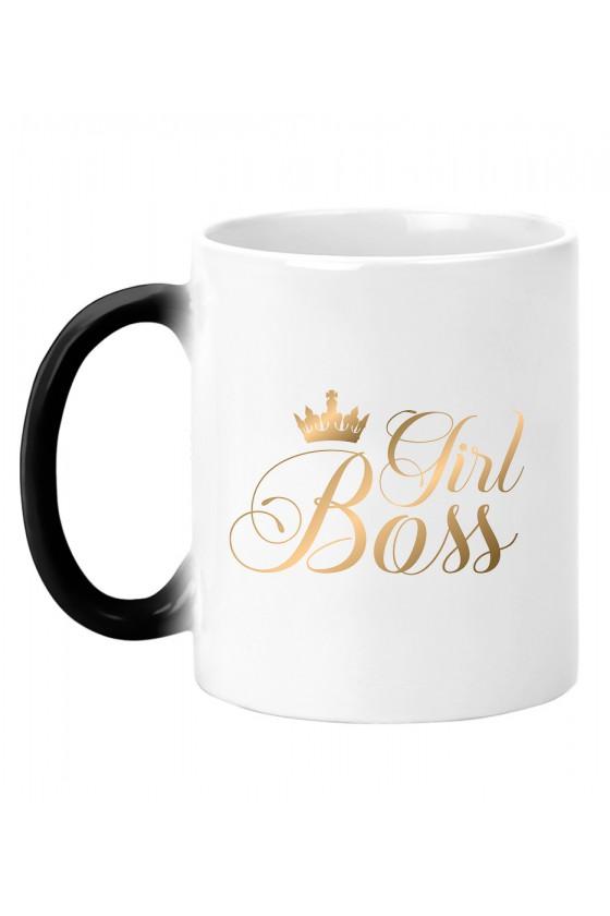 Kubek magiczny Girl Boss gold