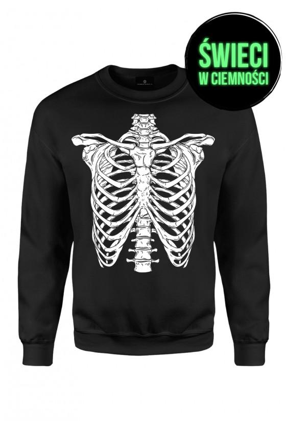 Fluo Bluza klasyczna Skeleton