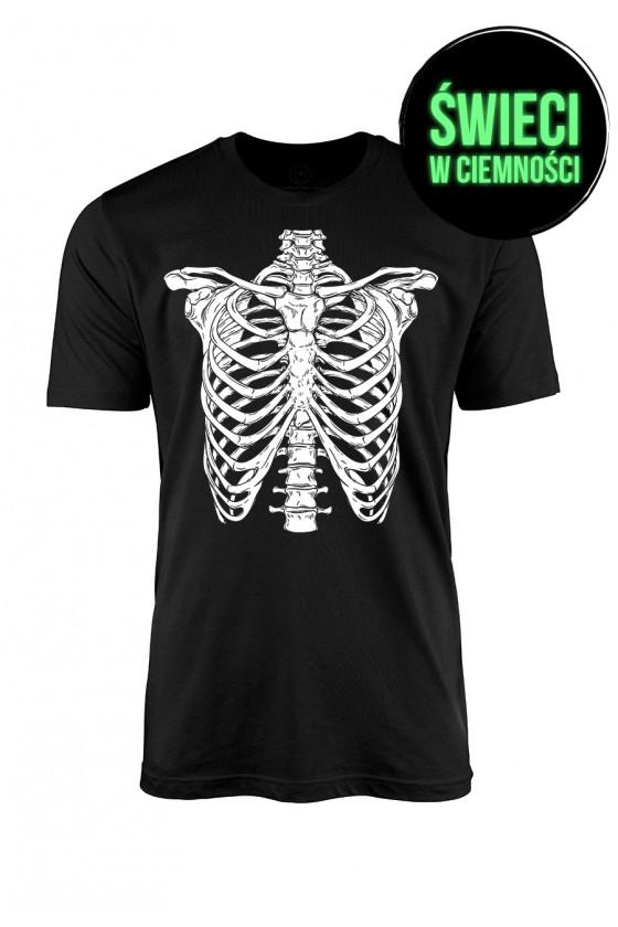 Fluo Koszulka męska Skeleton