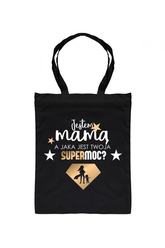 Torba Bawełniana Jestem Mamą Supermoc 1