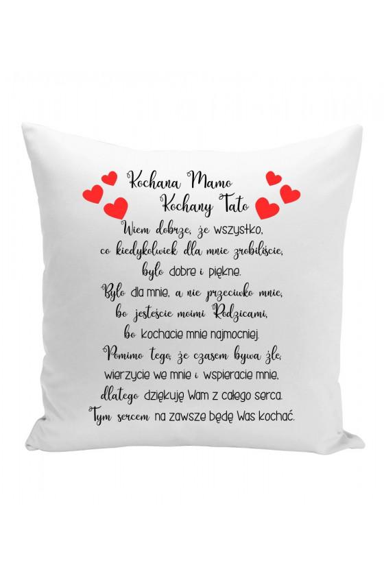 Poduszka dla ukochanych rodziców