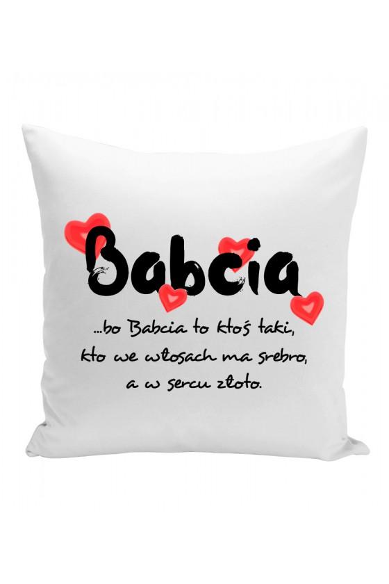 Poduszka Na prezent dla Babci z pięknym napisem