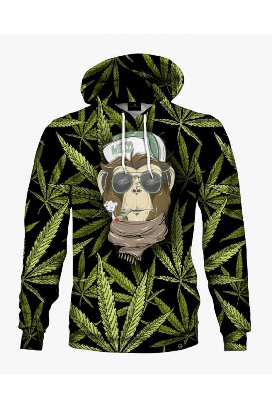 Bluza bawełniana Marihuana Monkey 420 Walt Dealer