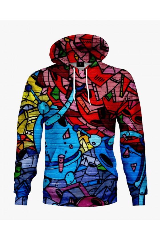 Bluza bawełniana Martian Graffiti