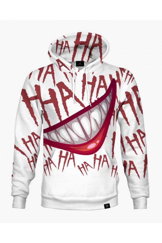 Bluza bawełniana HaHaHa Joker