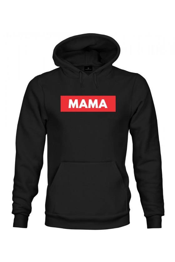 Bluza z kapturem Z modnym napisem MAMA