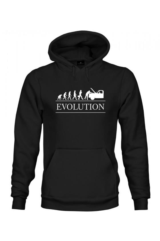 Bluza z kapturem Ewolucja mechanika