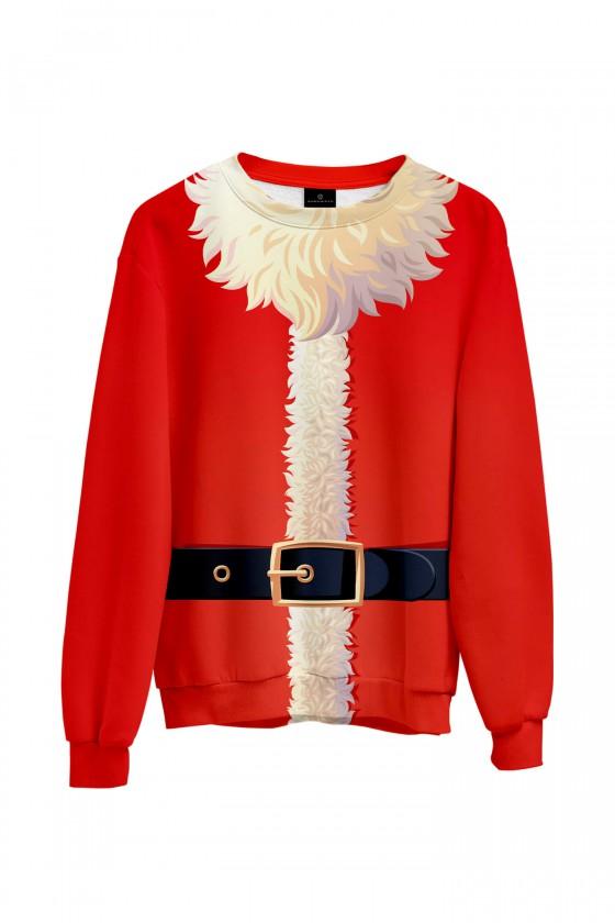 Świąteczna bluza Strój Świętego Mikołaja