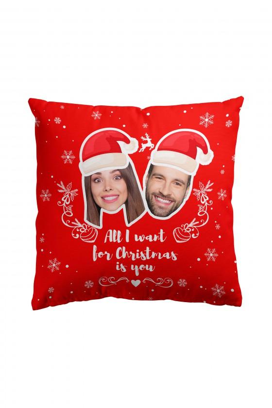 Poduszka na Święta z Waszymi zdjęciami