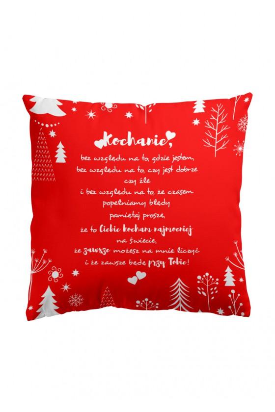 LIMITOWANA Świąteczna Poduszka Premium Piękne wyznanie