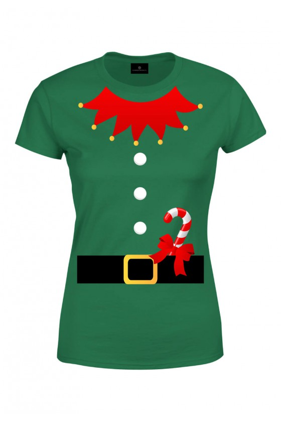 Koszulka damska Strój świątecznego elfa