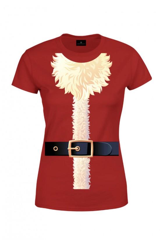 Koszulka damska Strój Świętego Mikołaja