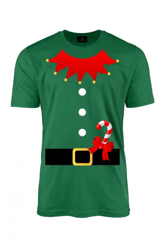 Koszulka męska Strój świątecznego elfa
