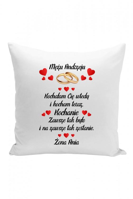 Poduszka Na prezent dla Męża z imieniem