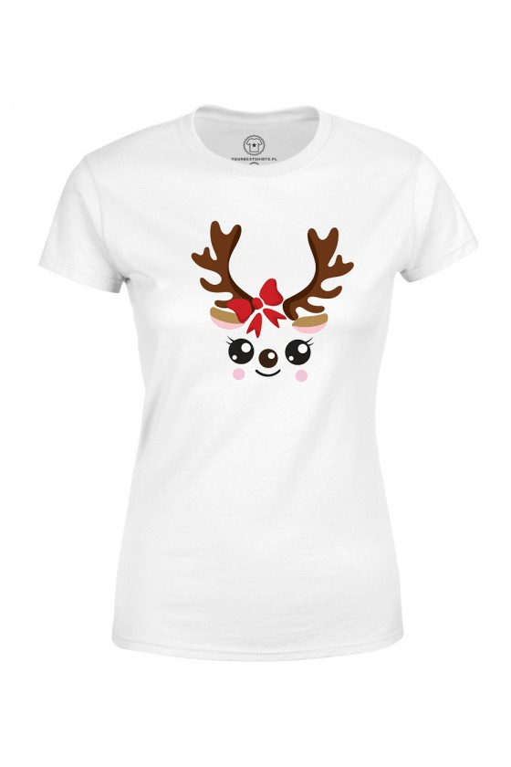 Koszulka damska Córka Renifer
