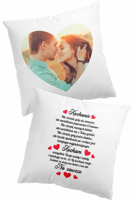 Poduszka premium - Wyznanie miłości + Zdjęcie