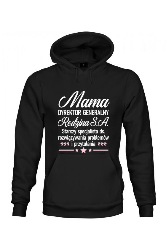 Bluza z kapturem Mama Dyrektor Generalny