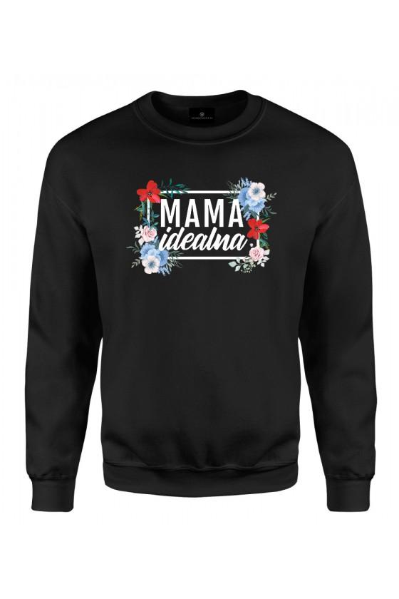 Bluza klasyczna Mama Idealna - modny print