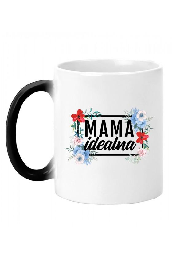 Kubek magiczny Mama Idealna - modny print