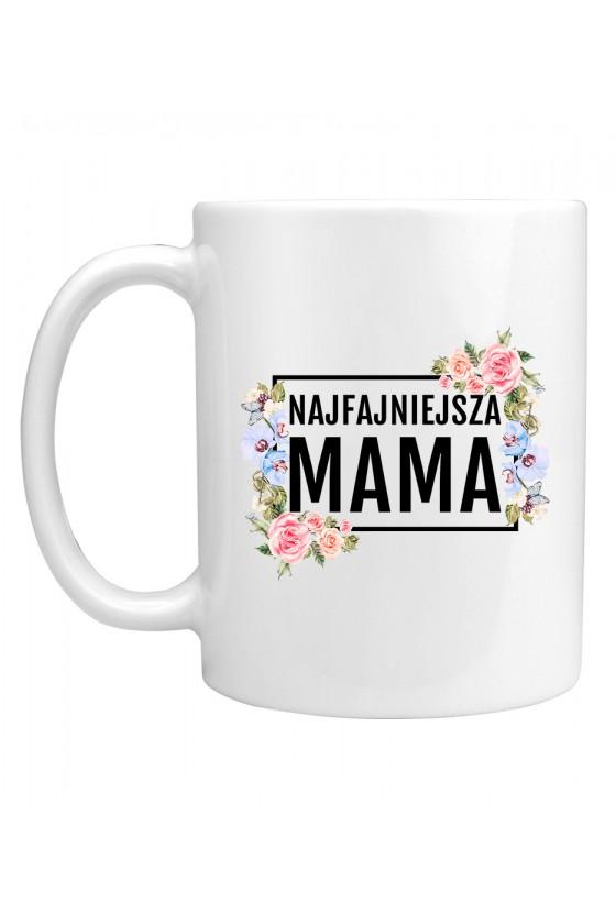 Kubek Najfajniejsza MAMA - modny print