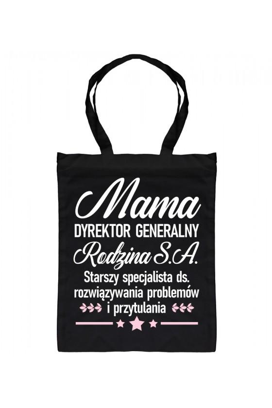 Torba Bawełniana Mama Dyrektor Generalny