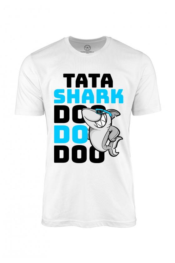 Koszulka męska Tata Shark...