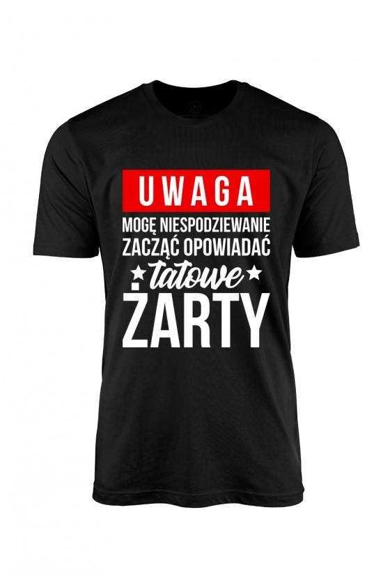 Koszulka męska Uwaga!...